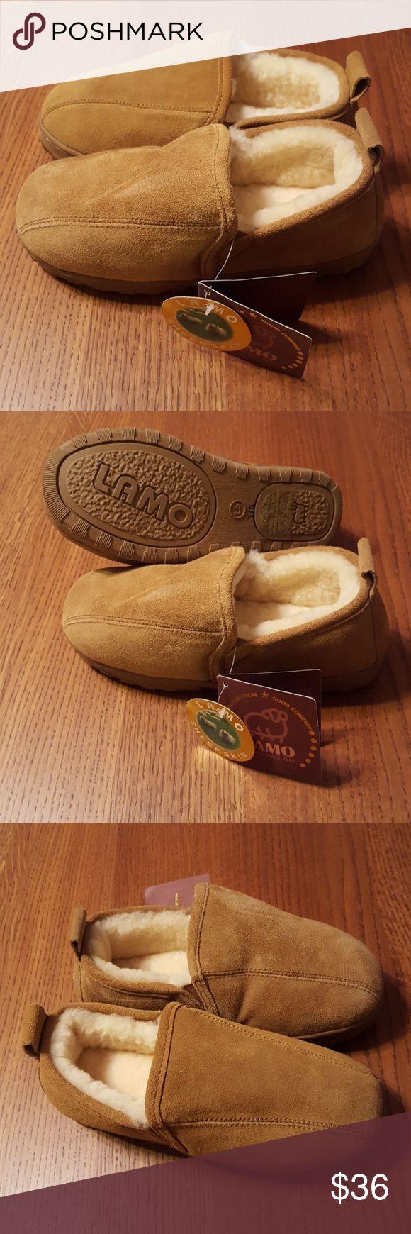 Lamo kids sheepskin slippers NWT Lamo 100% genuine sheepskin slippers for year round comfort. Lamo Shoes Slippers