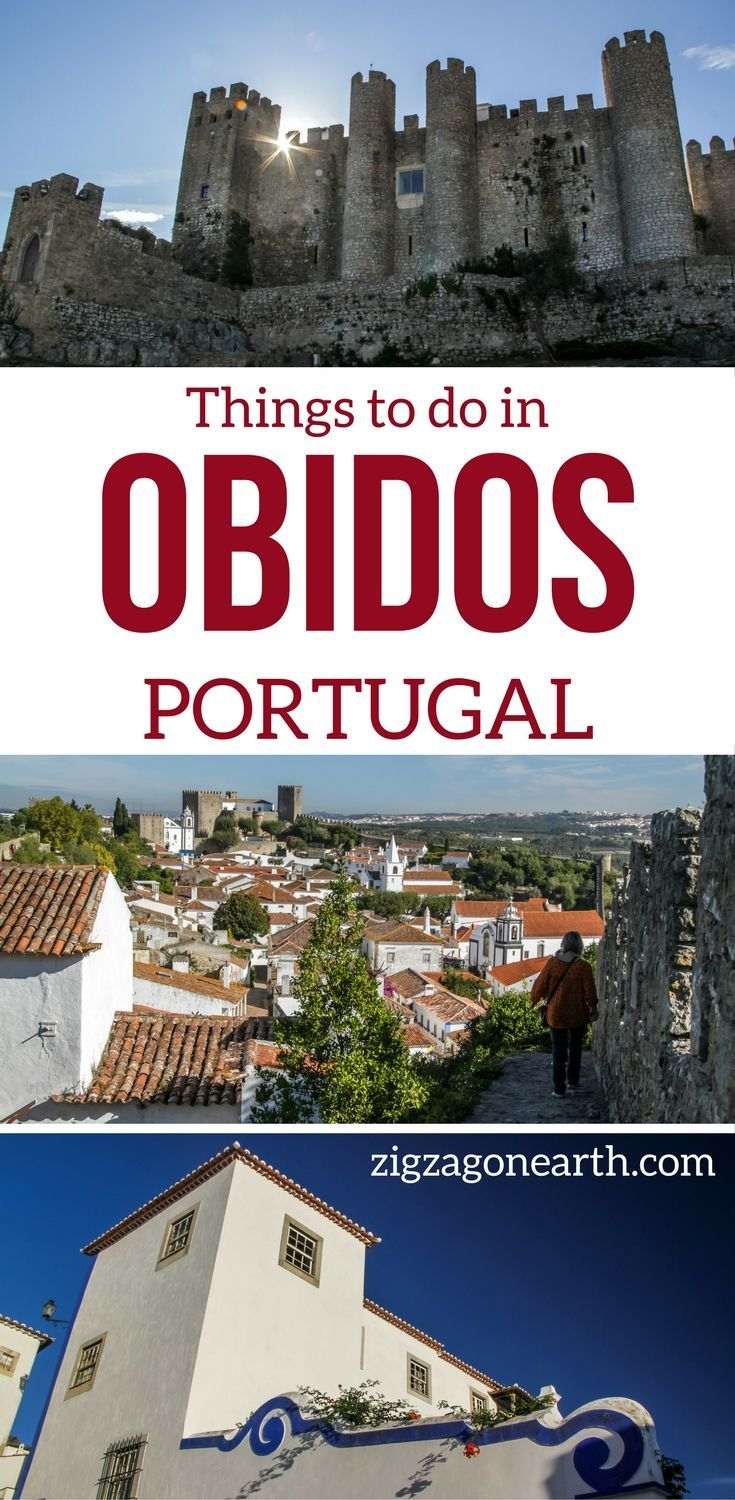 Things to do in Obidos Portugal Travel Guide – Discover the beautiful medieval village of Obidos, explore its charming streets and tour de fortifications for amazing views! Photos, Video and info to plan your visit   Portugal things to do   Portugal Itinerary   Portugal photograph