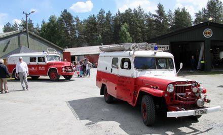 Gamle lastebiler - Brannbil