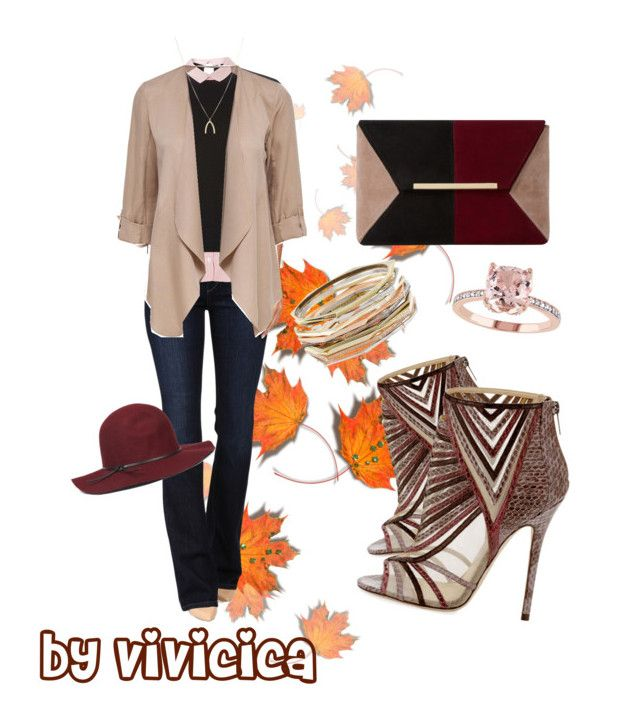 """""""fall 2016"""" by vivicica on Polyvore featuring Jimmy Choo, Joe's Jeans, Dorothy Perkins, ASOS, Dune, Nine West and Kendra Scott"""