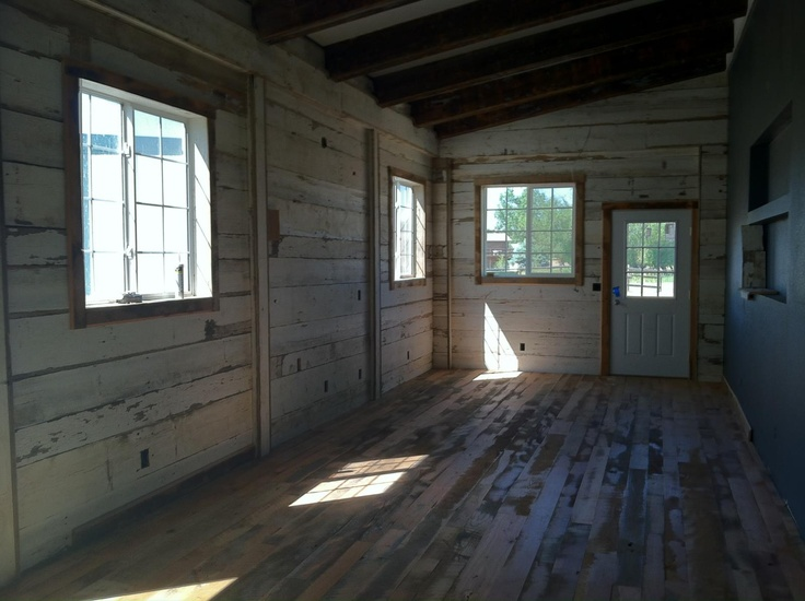 Beautiful Barn Board Provided By Reclaimed DesignWorks For A Porch And Patio .