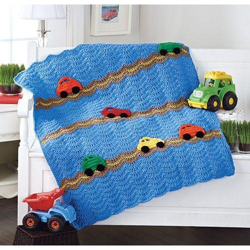 Mary Maxim - Cars Blanket