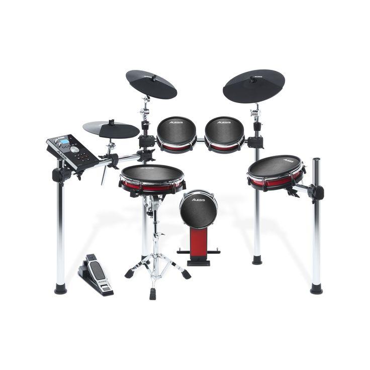 Alesis Crimson Drum Kit Electronic Digital 5 Piece Mesh Heads Drumkit