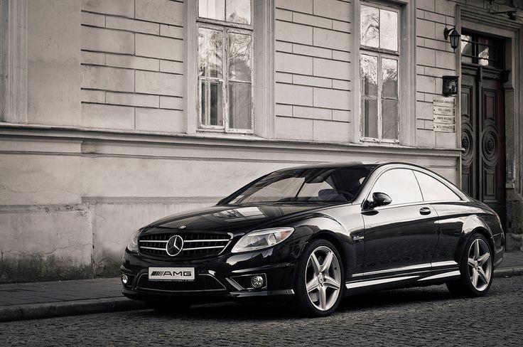 https://flic.kr/p/cACD5N | Mercedes CL 63 AMG | Cracow, Poland. Pentax K-x + SMC M 50/1.7