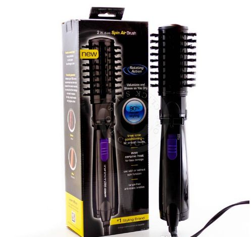2015 Ifiniti Pro Hot Air Spin Hair Styler Brush Ceramic Hair Brushes Electric 2 Inch Rotating Hair Styling Tools Comb Online with $20.74/Piece on Slpump's Store | DHgate.com