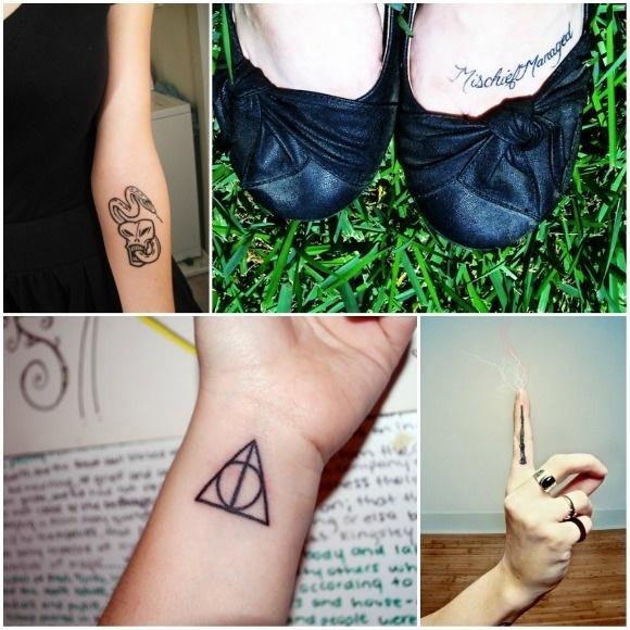 Harry Potter inspired tattoos: Tattoo Ideas, Art Tattoo, Get A Tattoo, Things Harry, Wands Tattoo, Harry Potter Tattoos, Potter Inspiration, Death Hallows Tattoo, Inspiration Tattoo