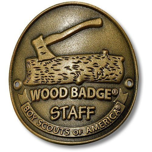 Wood Badge Staff Hiking Stick Medallion                                                                                                                                                                                 More