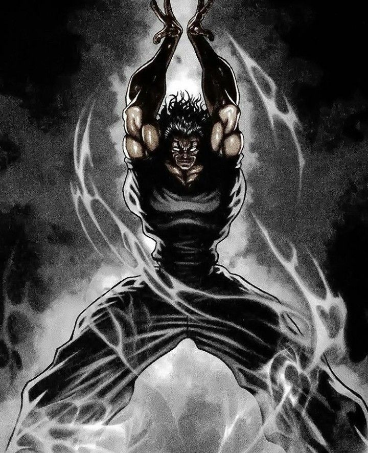 Yujiro Hanma Ultimate Fighting Based Image Anime Characters Street Fighter Art One Punch Anime