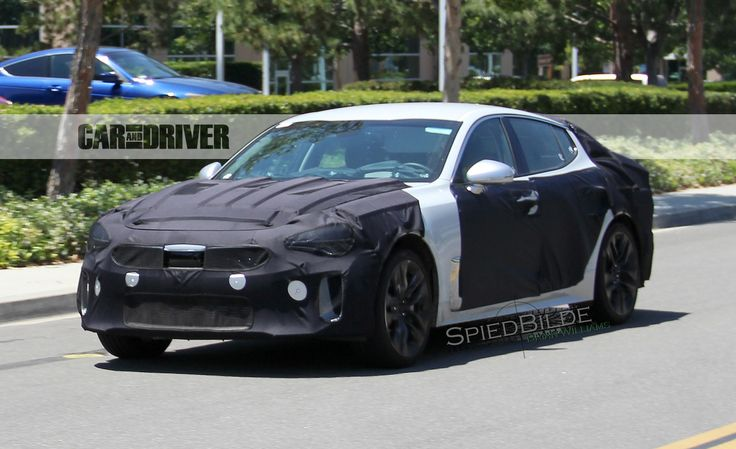 SPIED: A 2018 Kia GT sedan was caught rolling on the streets -> http://ow.ly/GAIk300mJTK #Kia #conceptcars #premierkiact