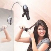 Styling your hair is now easier and more efficient than ever with this Hair Dryer Holder. With a stainless steel stand that can bend flexibly...