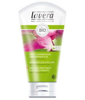 Lavera+Après+Shampooing+Soin+Réparateur+Rose+Complexe+4+plantes+Kératine+150ml