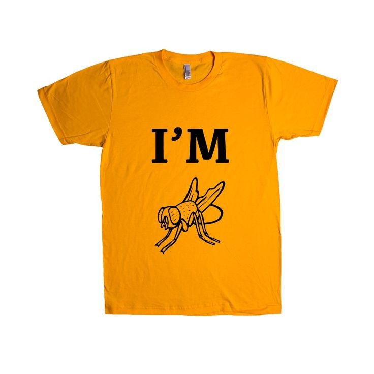 I'm Fly Cool Hip Flies Animal Animals Insect Insects Bug Bugs Pun Puns Play On Words Funny SGAL9 Unisex T Shirt