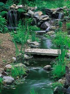 Waterfall Garden Ponds, Backyard Ponds and Waterfalls, Waterfall Pond Construction and Installation by Acorn landscaping of NY
