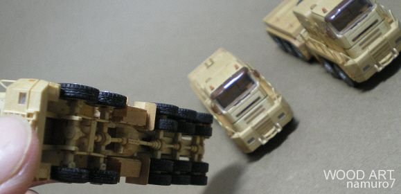 WOOD ART - Rotran Abnormal truck  l  substructure