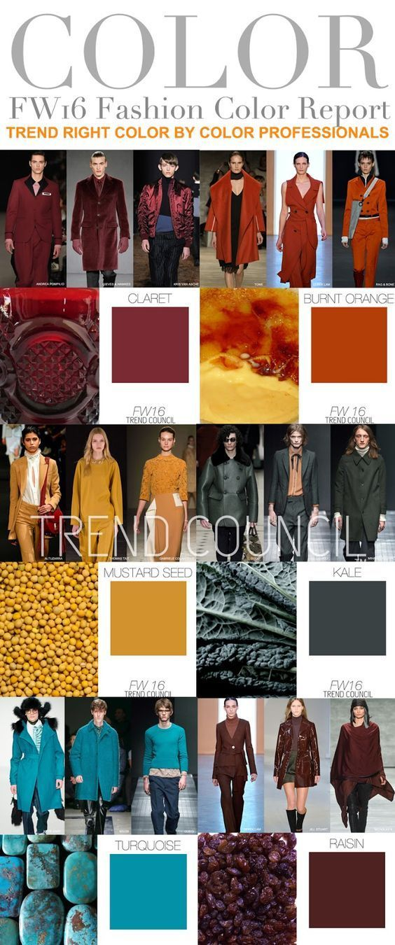 Fall / Winter Color Trends 2016-2017 | Fashion Trends 2015-2016                                                                                                                                                      More