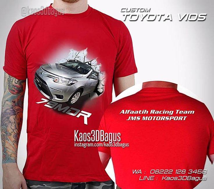 Kaos MOBIL, Kaos Toyota Vios, Kaos Klub Mobil, Kaos3D Gambar Mobil, WA : 08222 128 3456, LINE : Kaos3DBagus, https://kaos3dbagus.wordpress.com/2016/04/29/kaos-mobil-3d-kaos-3d-gambar-mobil-kaos-klub-mobil-indonesia/