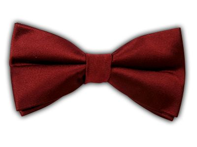 Solid Satin - Burgundy (Bow Ties) | Ties, Bow Ties, and Pocket Squares | The Tie Bar