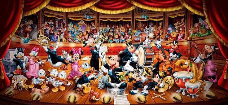 Puzzle CLEMENTONI 13200 dílků - Disney orchestr