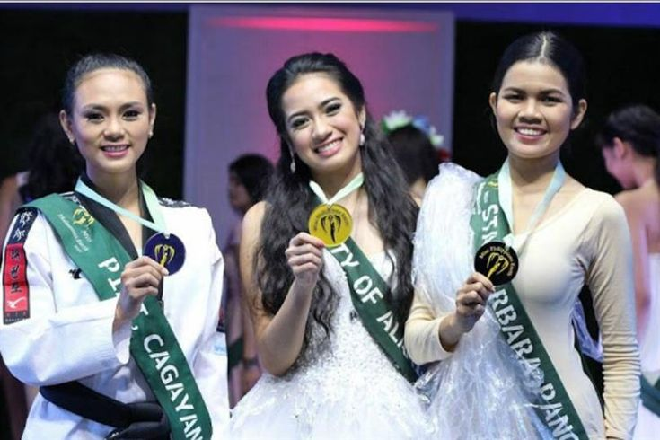 Miss Philippines Earth 2016 Talent Competition Winners