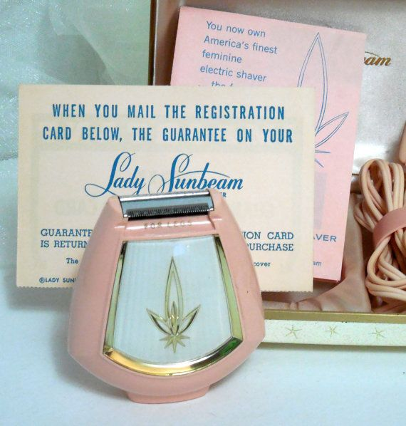 PINK 1950s Lady Sunbeam Shavemaster Shaver by Beadgarden55 on Etsy