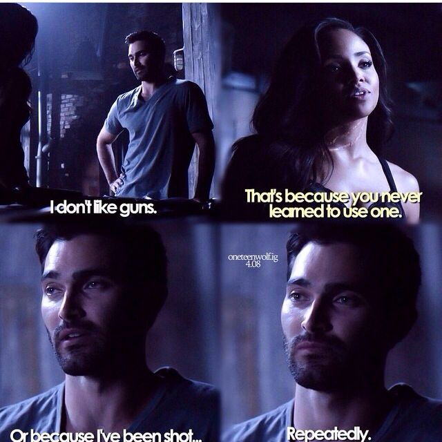 Teen wolf time of death