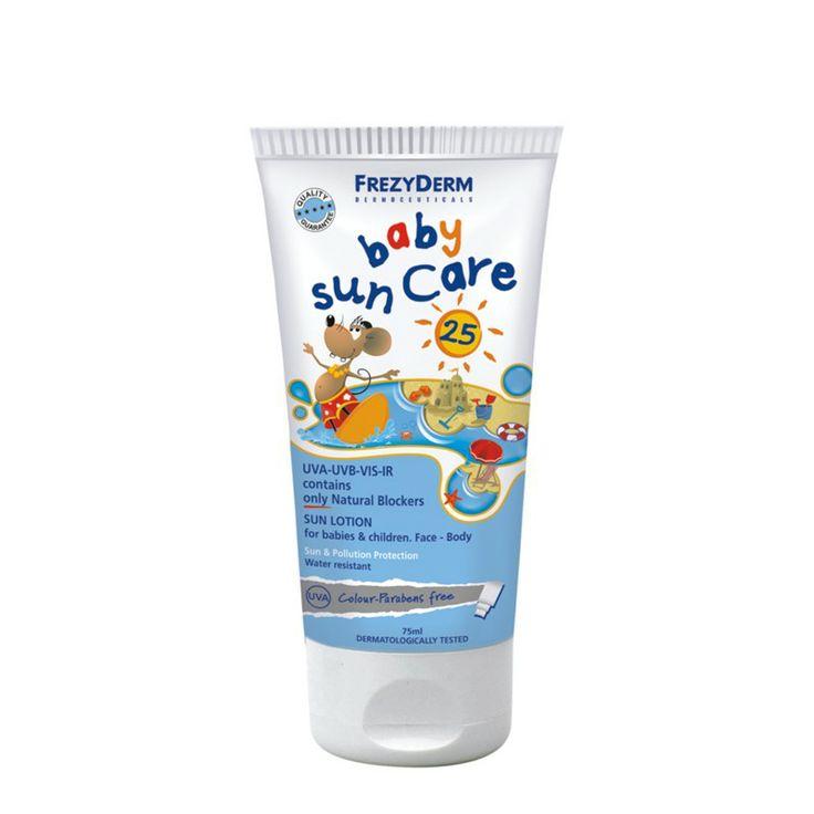 BABY SUN CARE SPF 25 | FrezyDerm