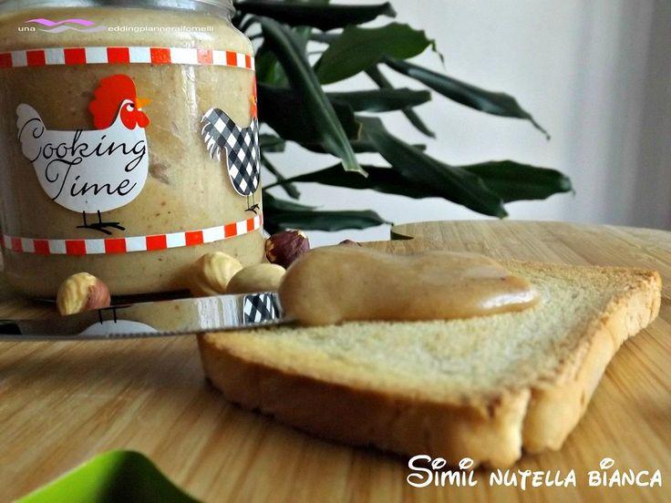 Nutella bianca più buona del supermercato  http://blog.giallozafferano.it/weddingplanneraifornelli/simil-nutella-bianca-piu-buona-del-supermercato/