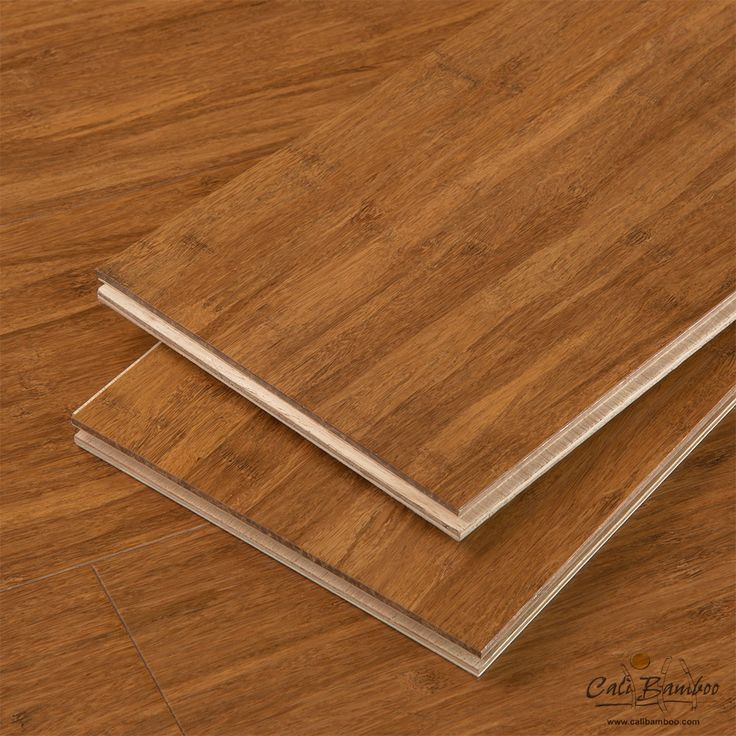 Engineered Wood Flooring - Java Fossilized® Wide+ T&G Hybrid™ Bamboo Flooring - Cali Bamboo