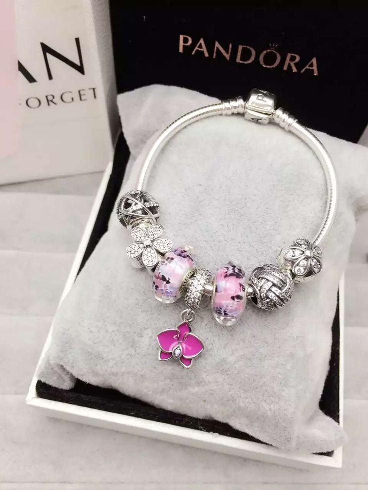 50% OFF!!! $199 Pandora Charm Bracelet. Hot Sale!!! SKU: CB01146 - PANDORA Bracelet Ideas