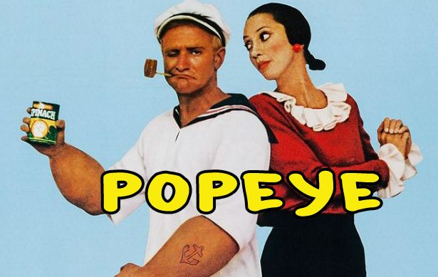 Popeye- Movie MOVIE - Popeye with Robin Williams http://www.happyvideonetwork.com/popeye-robin-williams/ Popeye Theatrical release…