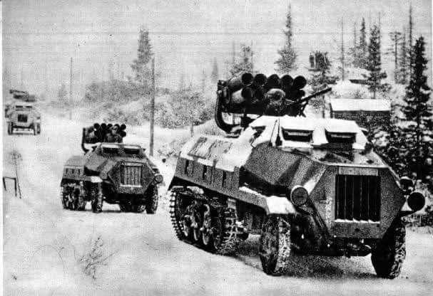 15cm Panzerwerfer 42 auf Selbstfahrlafette Sdkfz. 4/1 Maultier