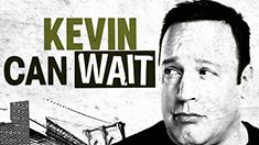 """KEVIN CAN WAIT """"Sting of Queens: Part One"""" Kevin begrudgingly agrees to come out of retirement briefly to reprise an undercover assignment where he and his old rival Vanessa Cellucci (Leah Remini), once again, pose as husband and wife. Also, Donna is up for a promotion, Kendra gets accepted to law school, and Chale gets a lucrative new job, on part one of the two-part first season finale. (30 Min)"""