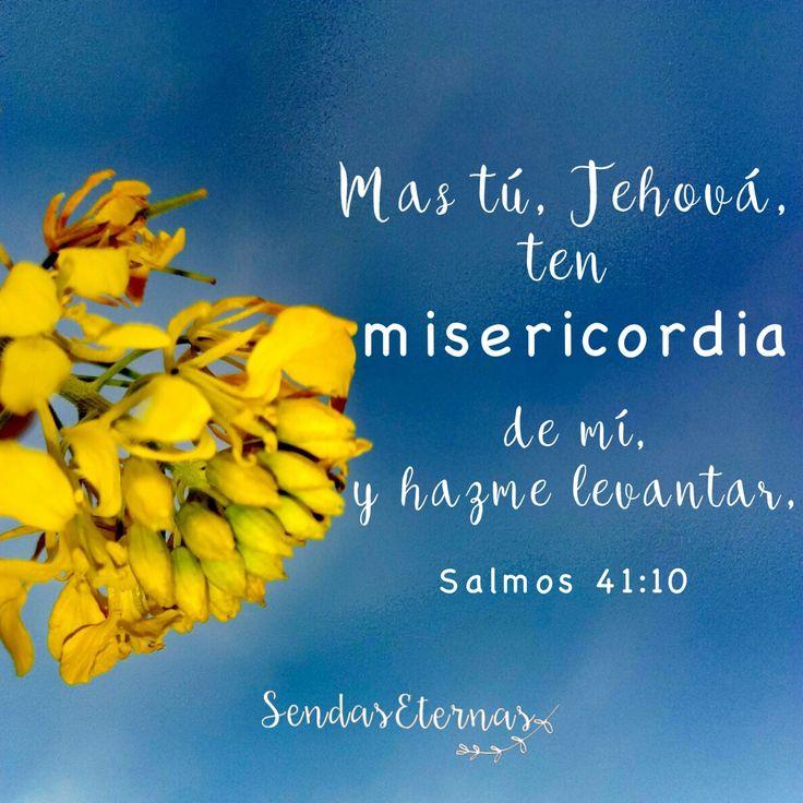 """Donde encontrar ayuda en la Palabra de Dios en caso de estar... !EN ORACIÓN! """"Mas tú, Jehová, ten misericordia de mí, y hazme levantar, Y les daré el pago."""" Salmos 41:10  Posted Aug 2017 on PRAYER fb page"""