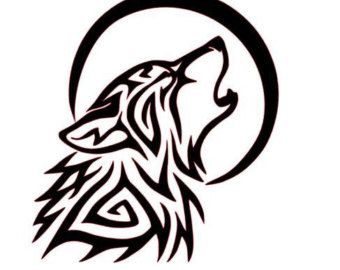 Ms de 25 ideas increbles sobre Dibujo de lobo aullando en