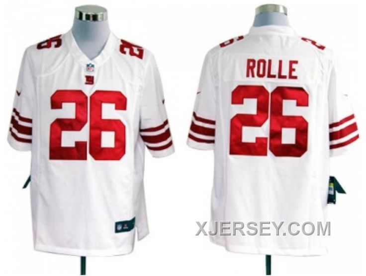 http://www.xjersey.com/cheap-nike-new-york-giants-26-rolle-white-game-jerseys.html CHEAP NIKE NEW YORK GIANTS #26 ROLLE WHITE GAME JERSEYS Only $38.00 , Free Shipping!