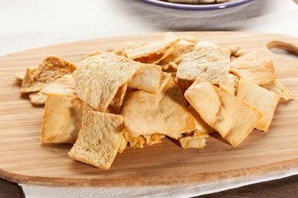 Croustilles de pita cuites au four | Cuisine et santé rénale
