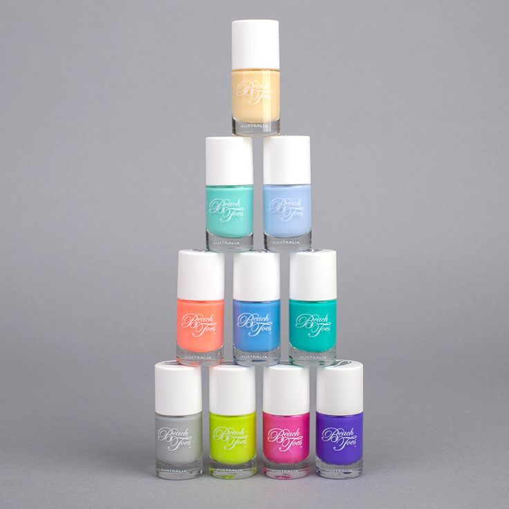Roo's Beach UK | Beach Toes Pina Colada Pale Yellow- Fab new Summer colours for days at the beach. #beachtoes