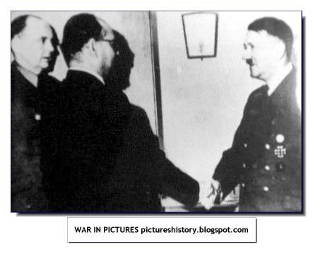 HISTORY IN PICTURES: BE THERE: Images Of War, History , WW2 : Subhash Chandra Bose, Nazi Germany And Free India Legion