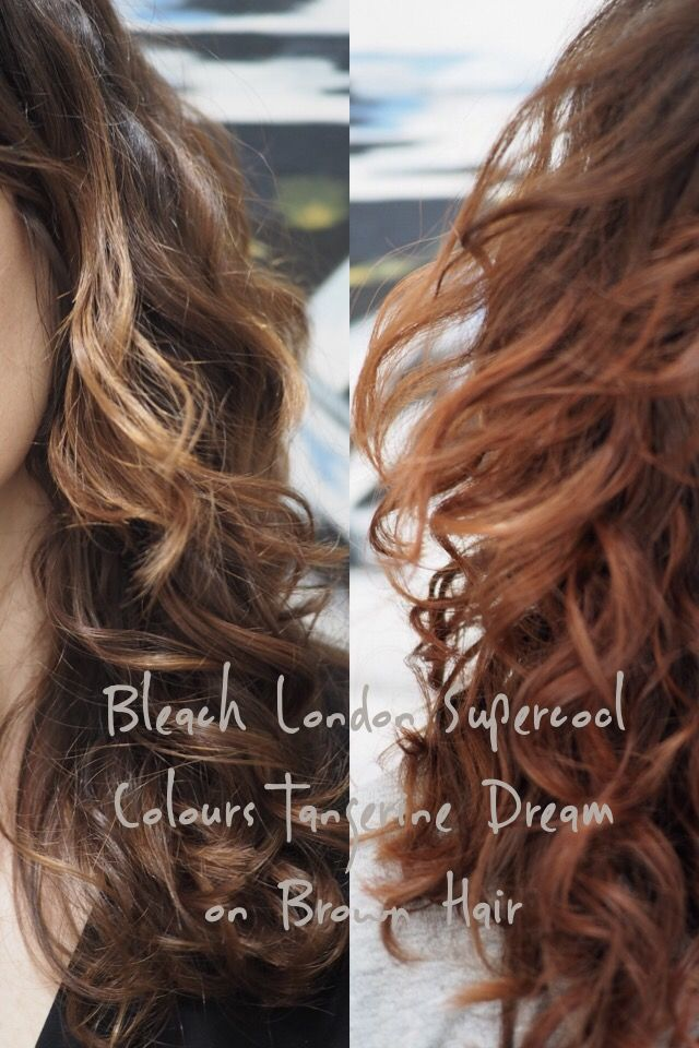 How well does Bleach Super Cool Colours Non Permanent hair colour in Tangerine Dream work on dark brown hair. (This is not an ad, I bought they product but links are affiliate)  I'm too…