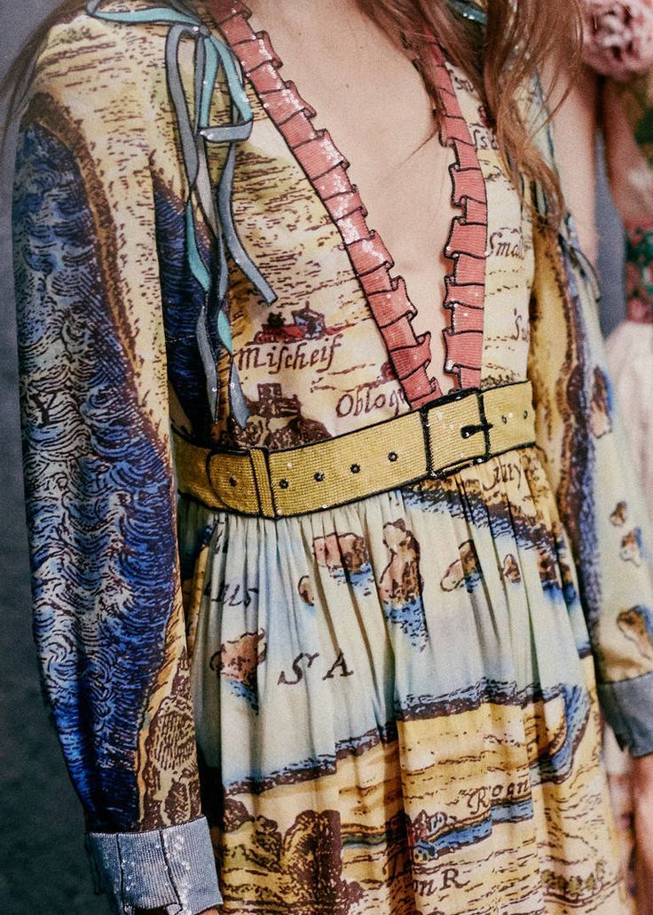 Gucci's Map Of Tenderness: The Lake of Indifference. The River Inclination. Tender On Esteem—just some of the metaphorical terrain love must navigate in 1654's La Carte de Tendre. Conceived by French novelist Madeline de Scudéry, the period allegory inspired Alessandro Michele's extraordinary Spring Summer 2016 collection.