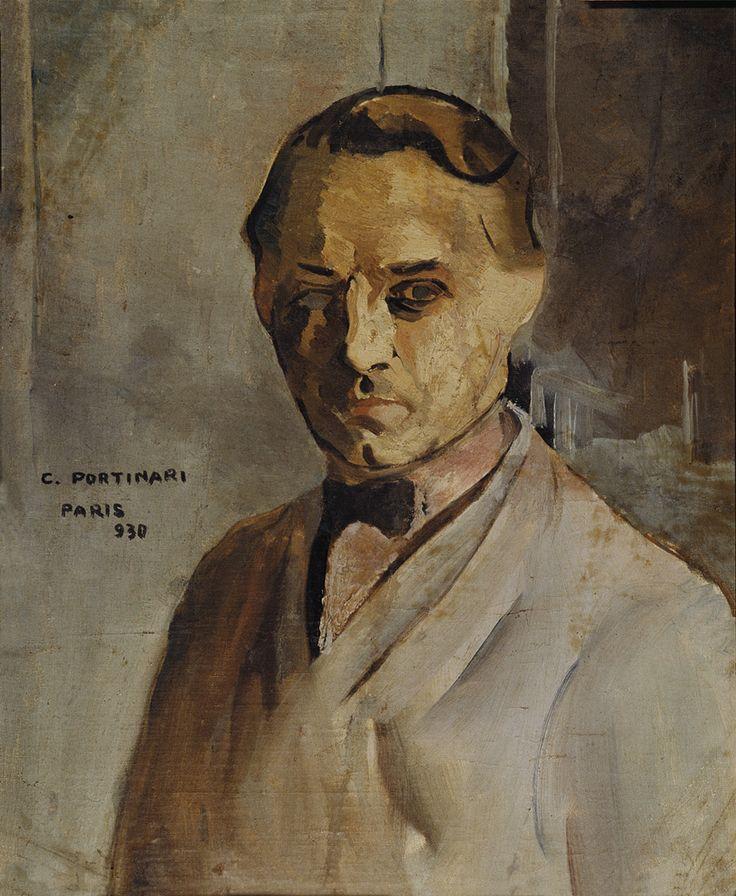 Auto-retrato, de Portinari - 1930.  Coleção particular, São Paulo - SP.