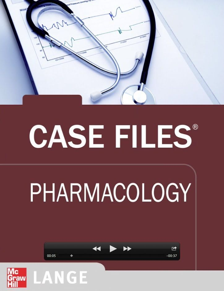 Case Files Pharmacology: 56 high yield cases for USMLE Step 1 review. Download FREE sample: www.expandedapps.com