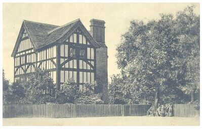 Queen Elizabeth's Hunting Lodge, overlooking Epping Forest, at Chingford, Essex. This building may be occupying the site of the lodge where Anne and Henry used to shoot game. The legend connected with this lodge is that Elizabeth I used to ride her horse up to the first floor.