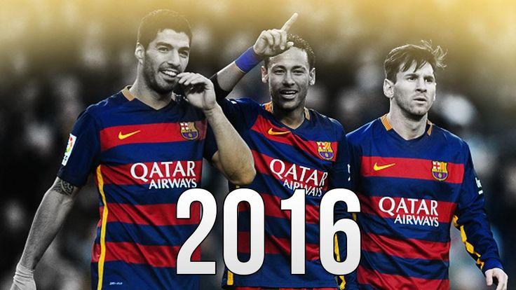 MSN Trio - Lionel Messi - Luis Suarez - Neymar Jr - Skills & Goals 2016 HD