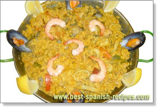 :-D: Spanish Food, Spanish Recipes, Mixed Paella, Paella Paella, Spanish Paellas, Favorite Recipes