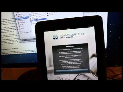 Schneller lesen + Apps für Speedreading