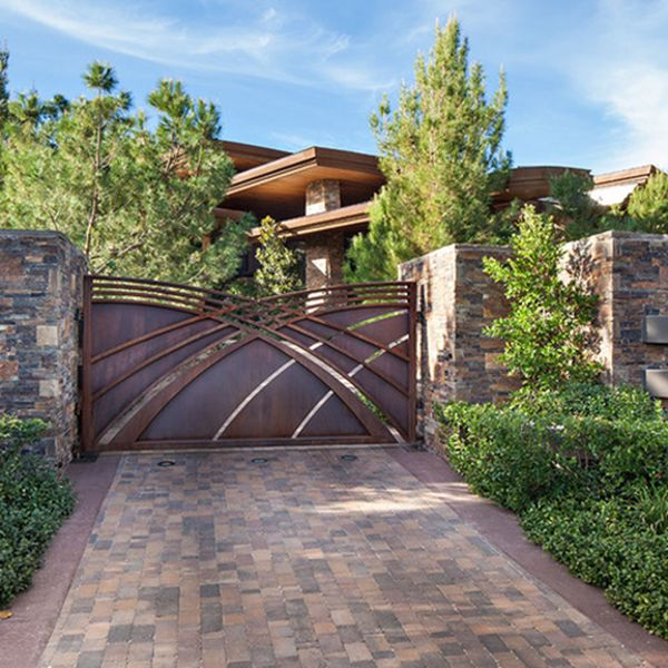 The houses are recognized with their front gate. So, the front gates needs to be…