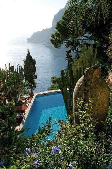 Hotel Tragara Capri, art suite  www.hoteltragara.com