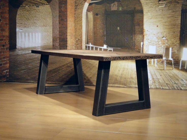 Industriele tafel Pontedra - ROBUUSTE TAFELS! Direct uit voorraad of geheel op maat >>