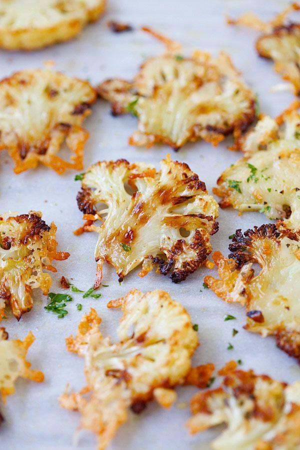 Recetas con coliflor, deliciosas y sencillas de preparar. Pizza, croquetas, tortitas, coliflor gratinada y otras recetas con coliflor originales.
